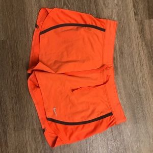 Orange Nike workout shorts without tags but not